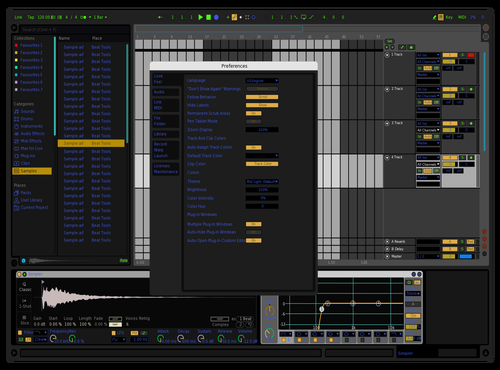 ReRemix2 Theme for Ableton 10 by Zed