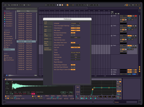 Purple? Theme for Ableton 10 by Andrew