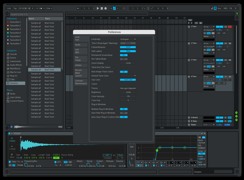 Prosonus Touch-Up Theme for Ableton 10 by Fred