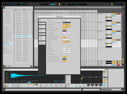 Morning Light Theme for Ableton 10 by ajet