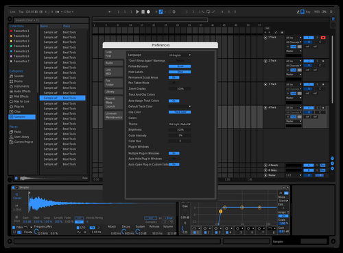 New Dark Theme for Ableton 10 by Sankalp zore