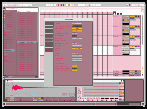 Cotton candy cocoa puffZ Theme for Ableton 10 by Fletcher Hendrickson