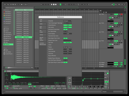 H24 - D2 Theme for Ableton 10 by H24mv