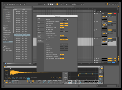 T1 Theme for Ableton 10 by wax