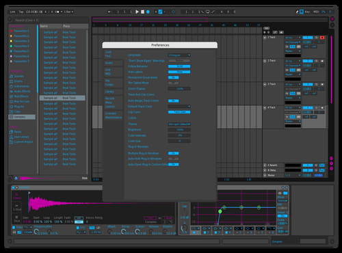 Blue Pink 2 Theme for Ableton 10 by Paul Matthew