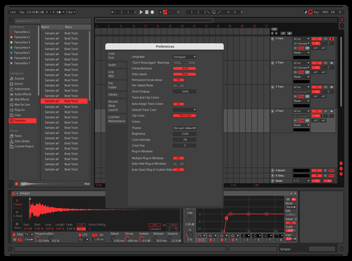 Barti Theme for Ableton 10 by Bartek