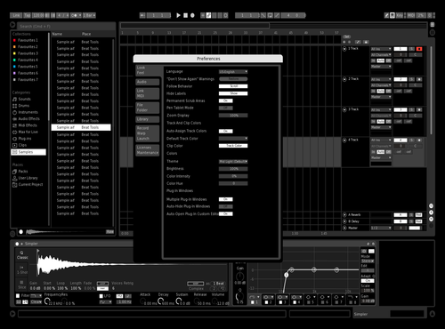 S xtreme Theme for Ableton 10 by Romanos Mendesidis