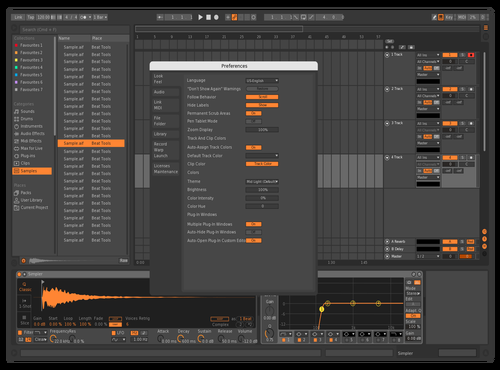 Bitwish Theme for Ableton 10 by NUTRINO