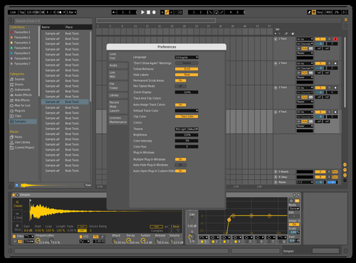 MidDNW Theme for Ableton 10 by david