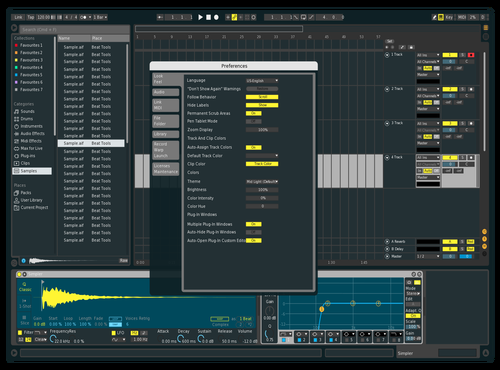 Lizzurd Theme for Ableton 10 by Trinity