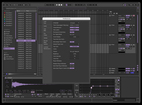 Lavender Theme for Ableton 10