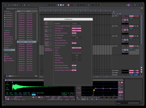 Dark Green Theme for Ableton 10 by BREGORZ