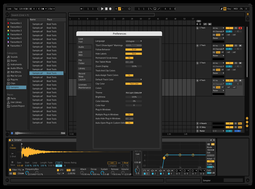 Amoled Black Theme for Ableton 10 by garmexist