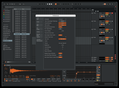 Dj Spot Theme for Ableton 10 by Soulaced