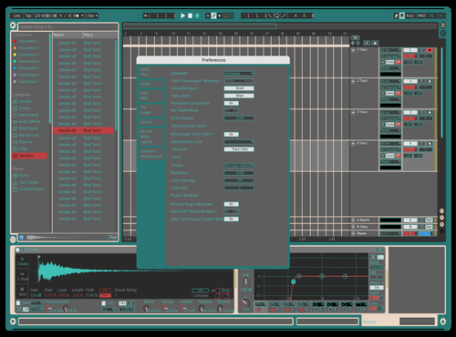XB Theme for Ableton 10 by Ben