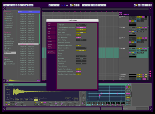 7080 retro Theme for Ableton 10 by 이대종