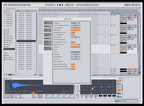 Off-Light Theme for Ableton 10 by Hunter White