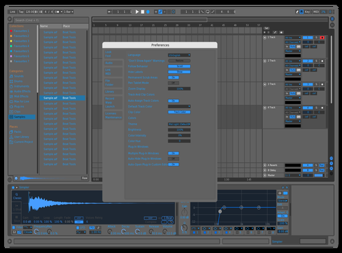 BLueClean Theme for Ableton 10 by carlad11
