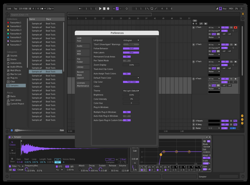 Lilac's Passion Theme for Ableton 10 by Gaetano Di Nocera