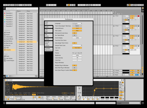 Clear Theme for Ableton 10 by A-Dog
