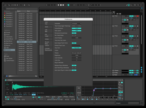 Visible Grid 2 Theme for Ableton 10 by dzd
