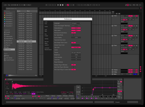 Pink Swag Theme for Ableton 10 by nick