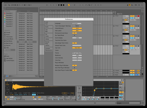 Future is Now Theme for Ableton 10 by ShyPrince