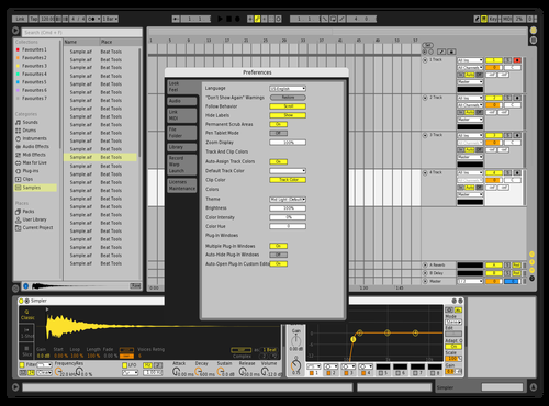 Classic Default 8 Theme for Ableton 10 by Jeremy Mumblow