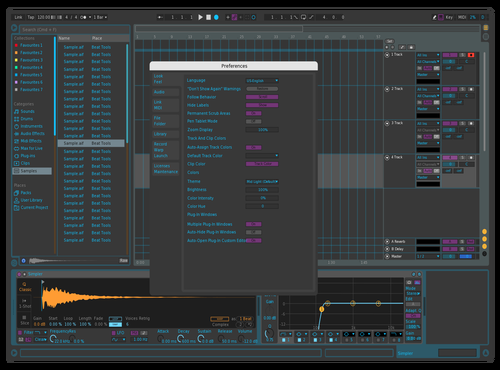 Tronignis Theme for Ableton 10 by Annae Ignis