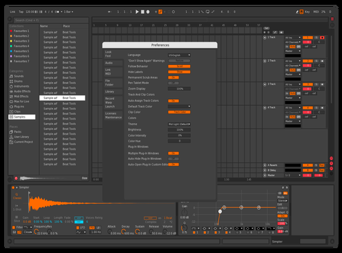 880_RMX Theme for Ableton 10 by Loki