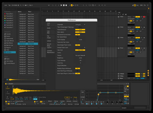 BLACK1 Theme for Ableton 10 by juanca