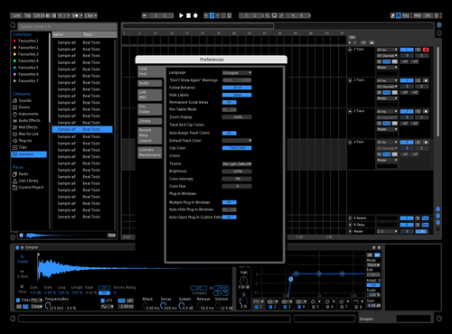 Logic black Theme for Ableton 10 by Christopher Mendoza