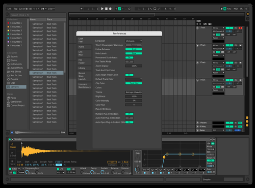 Clipcolor Theme for Ableton 10 by Lukas