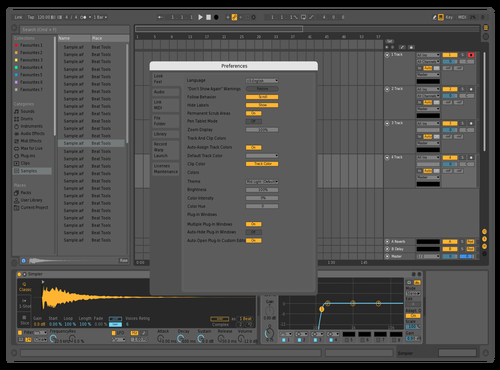 MIXAIL Theme for Ableton 10 by Mixail