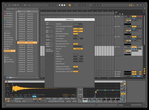 T2+ Theme for Ableton 10 by wax