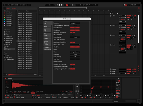 DarkRed Theme for Ableton 10 by Emiliano