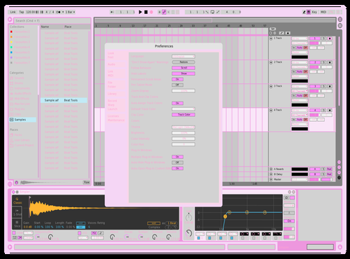 Yummy Theme for Ableton 10 by Kendeyl Collins