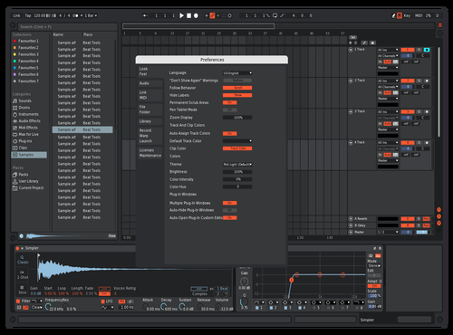 Observatory 2 Theme for Ableton 10 by Reaver