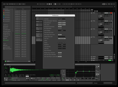 Spotify But Not Too Dark For Me :) Theme for Ableton 10 by HotoHeado