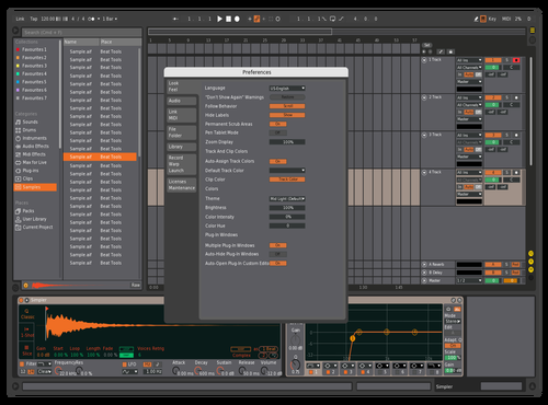 808 more contrast Theme for Ableton 10 by DigitalMess