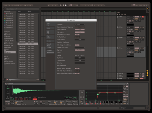 Retrochrome v0.5 Theme for Ableton 10 by retrochrome
