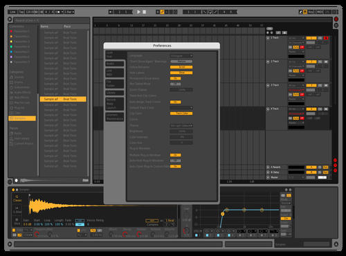 Test001 Theme for Ableton 10 by Vince Watson