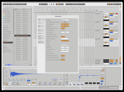 Rewtf Theme for Ableton 10 by AKPanda