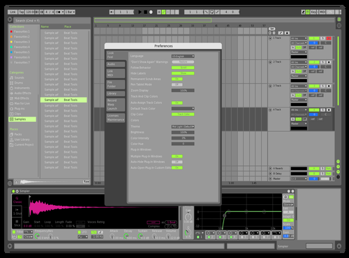 D Theme for Ableton 10 by itzik itzack