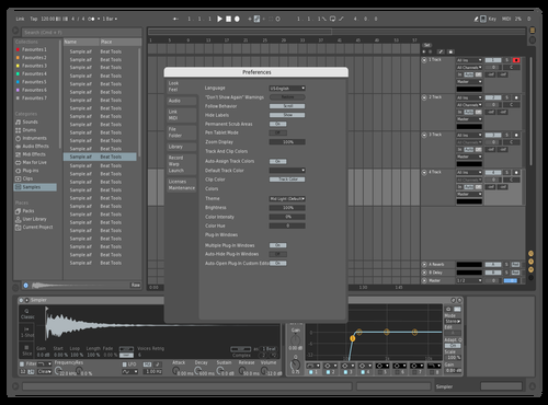 Refined Grey Theme for Ableton 10 by P