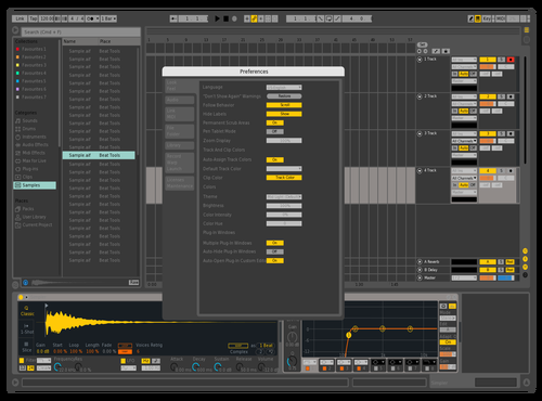 Uddipta Theme for Ableton 10 by Uddipta Sarma