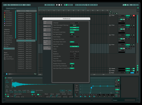 Diefex Theme for Ableton 10 by kylen