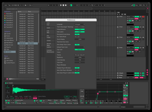 Mintberry Theme for Ableton 10 by oneofthousands