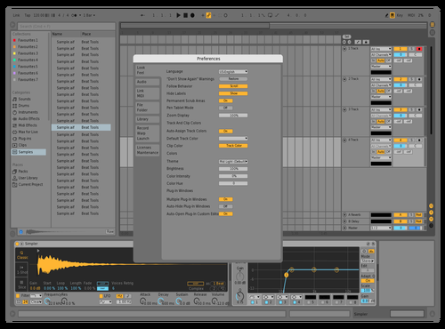 Default Pro Theme for Ableton 10 by Raffi