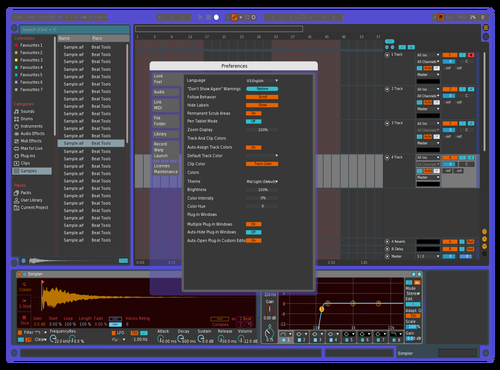 The Way 2 Skin Theme for Ableton 10 by Oscar Vazquez